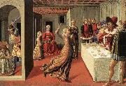 The Dance of Salome  dfg GOZZOLI, Benozzo